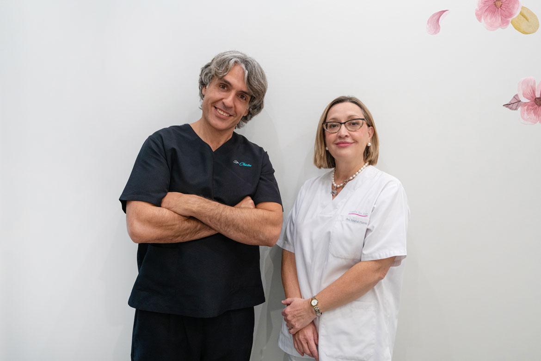 Doctor Chicón y Doctora Flores