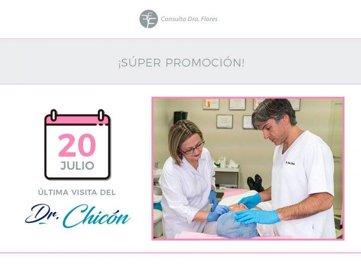 Súper promoción en la última visita del Dr. Chicón